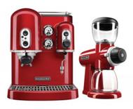 Kitchen Aid - KAESSGR   - Espresso Machine and Burr Grinder Duo. Weekly Rental $20.00
