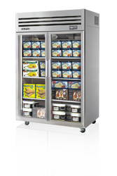 Skipio - SFT45-2G. Two Glass Door Upright Freezer. Weekly Rental $82.00