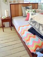 Box Bed, Queen size Jarrah