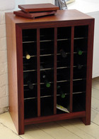 wine cabinet, 4x6 Jarrah, Barbi