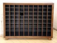 Wine cabinet, 8x10, Blackwood, Barbi