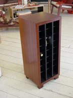 Wine Cabinet, 3x8, Redgum, Barbi