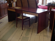 Desk in Jarrah with Ash drawers