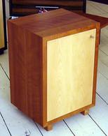 Myrtle cube with Beech door