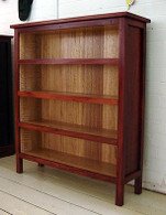 Bookcase, Small, Jarrah and Ash