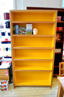 Bookcase, American Oak and Yellow, Barbi