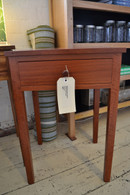 Bedside table with drawer, Jarrah