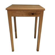 US Oak timber side table