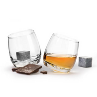SAGAFORM whiskey glass gift set