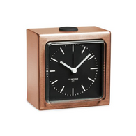 UNTIL leff block copper clock