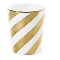 OUTLIVING ME mug gold swirl