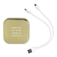 PRETTY USEFUL TOOLS power bank mirror gold