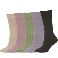NATIVE WORLD possum socks plain