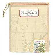 CAVALLINI vintage tea towel