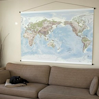 TELEGRAM map-world map large