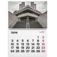 MANIC brutalist calendar 2020