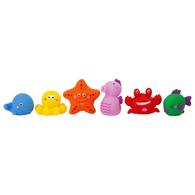 SUNNYLIFE bath animals set/6