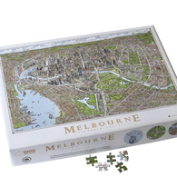 THE MELBOURNE MAP 1000pc jigsaw