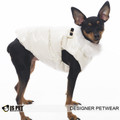 IS Pet Fashion Cream Winter Body Warmer dog Coat