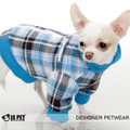 IS Pet Fashion Rock Star Dog Jacket Blue