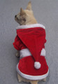 Merry Christmas Santa Dog Coat