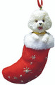 BFW Designer Christmas Santa's Little Pals Stocking Decoration