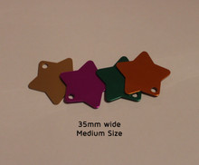 Pet ID Tag For Dogs & Cats - Star Design