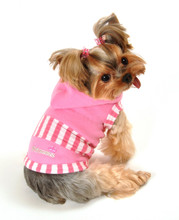 Hip Doggie Princess Crown Hoodie