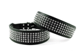 Leather Bling Dog Collar