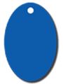 Pet ID Tag For Dogs & Cats - Oval Design