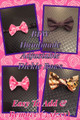 BFW Handmade Custom Order Adjustable Dickie Bows