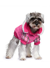Urban Pup Highland Lady Quilted Tartan Coat