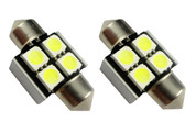 CANBUS 31MM 4-SMD 5050 LED FESTOON - ERROR FREE
