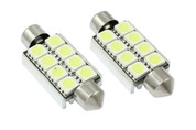 CANBUS 42MM 8-SMD 5050 LED FESTOON - ERROR FREE