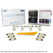 Pontiac Vibe 2009-2010 (5 Pieces) Interior LED Kit - 5050 LED Chip