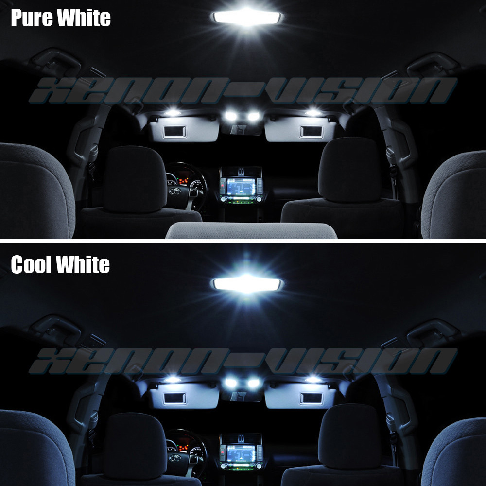 Chevy Hhr 2006 2011 11 Pieces Interior Led Kit 5050 Led Chip