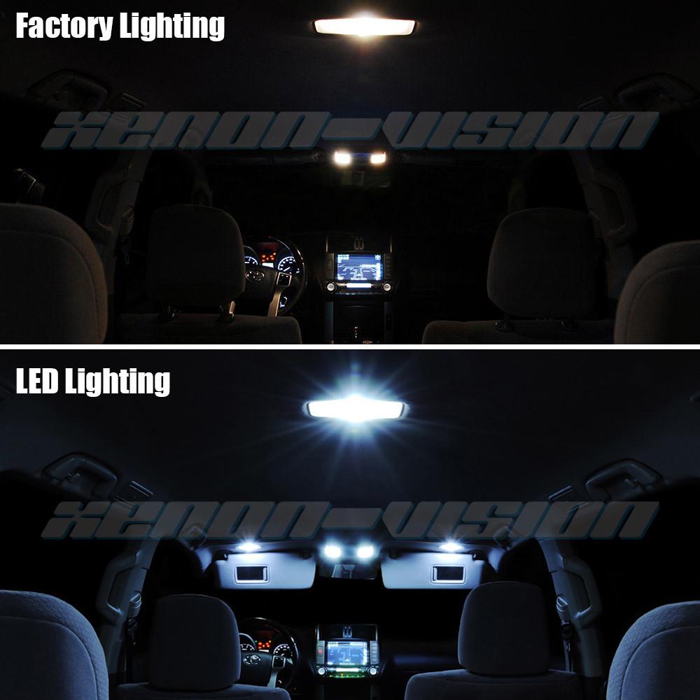 toyota sienna 2015 interior lights