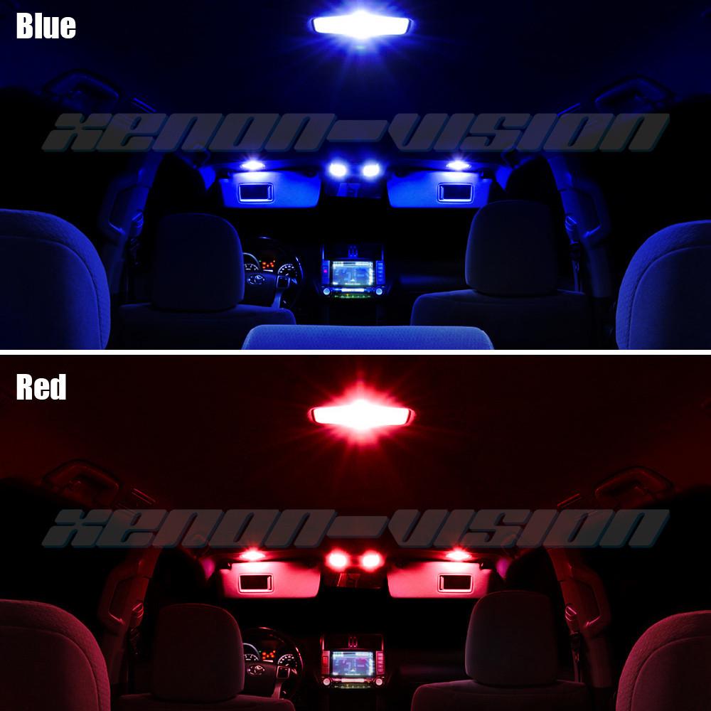 Bmw X6 Red Interior: Bmw X6 E71 Interior Lights