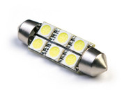 39MM 6-SMD 5050 LED FESTOON