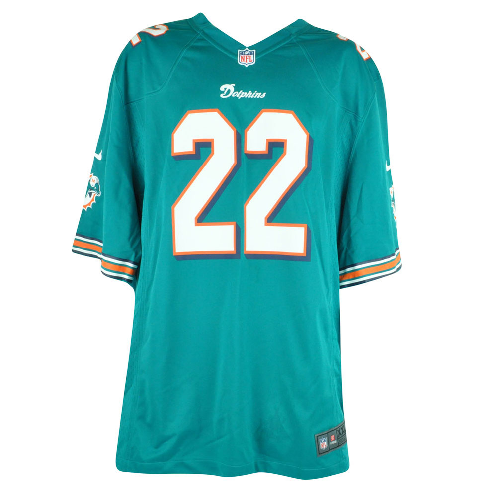 new arrivals f4227 bdc93 NFL Nike Miami Dolphins Reggie Bush #22 Home Limited Mens Jersey DJ6004  2XLarge