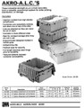 AKRO ATTACHED LID CONTAINERS 39160