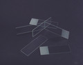 C&A PLAIN and FROSTED MICROSCOPE SLIDES # 9105-E - Single Frosted, One End, One Side, 144/gr, 10 gr/cs