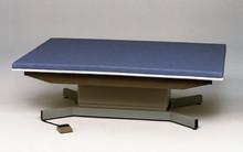 Clinton Hi-L0 Mat Platforms # 253-47 - Hi-Low Upholstered Mat Platform, 4 ft x 7