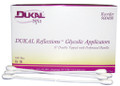 "Dukal Spa Supply & Spa Care Products # 900400 - Glycolic Applicator, 8"", Dual Tip, Non-Sterile, 100/bx, 10 bx/cs"