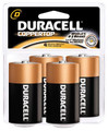 DURACELL COPPERTOP RETAIL BATTERY MN1300R4Z