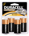 DURACELL COPPERTOP RETAIL BATTERY MN1400R4ZX