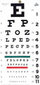 Graham Field Grafco Snellen Type Plastic Eye Chart # 1240 - Careforde Healthcare Supply