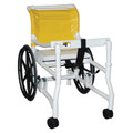 "MJM Ambulatory Walkers ""400"" Series # 418-24 - Combination Transport Walker (18"" internal width), 24"" Rear Wheels, Height Adjustable, Each"