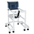 "MJM Ambulatory Walkers ""400"" Series # 418-OR-3TW-T - Stroller/ Walker, 18"" Internal Width, Anti-Tip Outriggers, 3"" Twin Casters, Height Adjustable, For Residents/ Patients Between 6 ft & 6 ft 6"", Each"