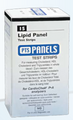 Chek Diagnostics Cardiochek Test Strips # 1710 - Lipid Panel, bx